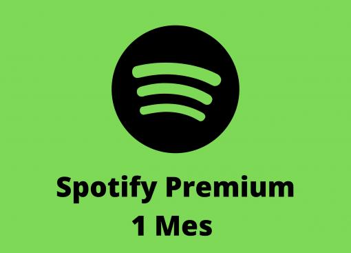 spotify cuentas 1 mes