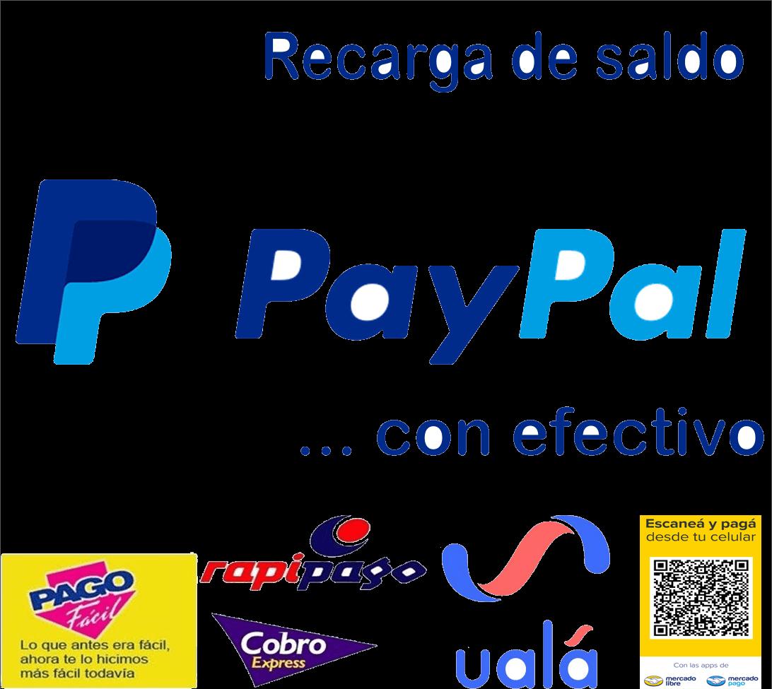 recarga saldo paypal argentina