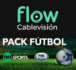pack futbol flow cablevision