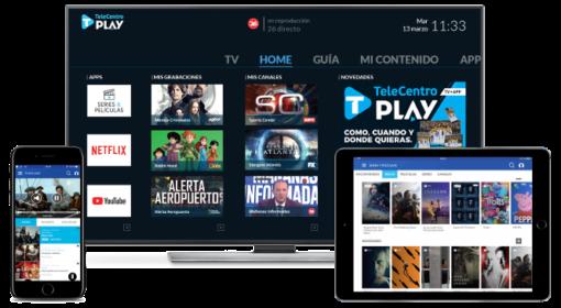 telecentro play dispositivos